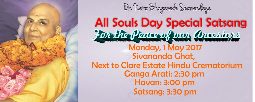 All Souls' Day Maha Satsang