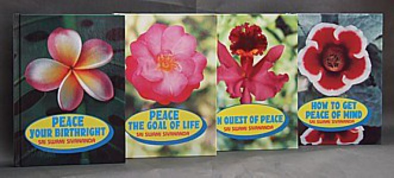 """Peace"" Series in 4 Hard Cover Volumes"