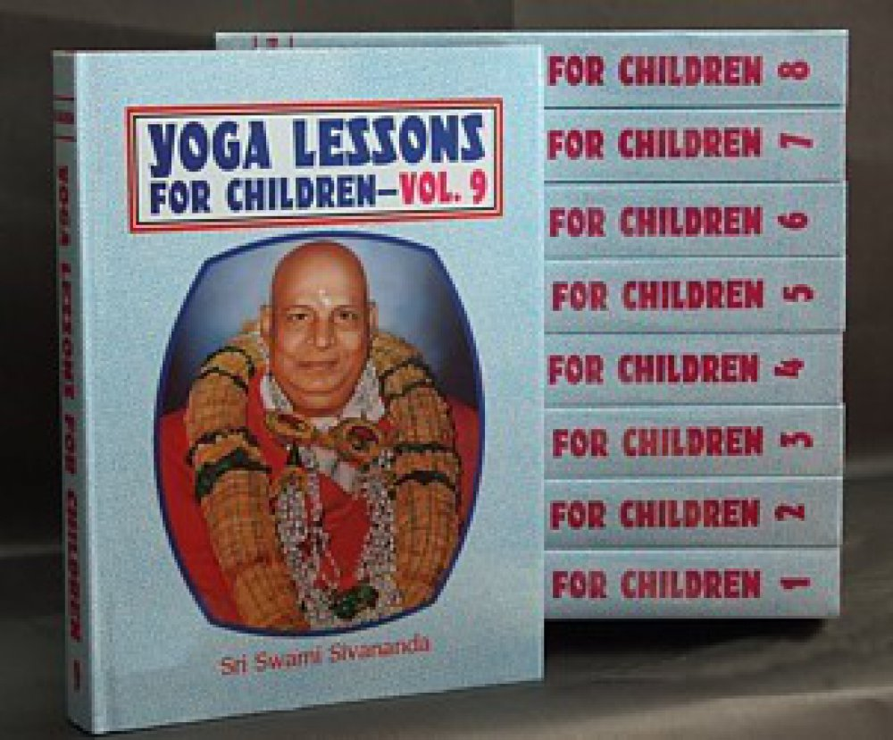 """Yoga Lessons for Children"" in 9 Hard Cover Volumes"