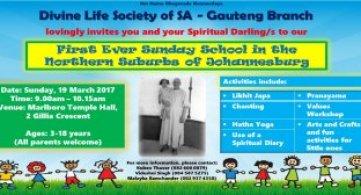 Sunday School at Marlboro Temple Hall - Gauteng