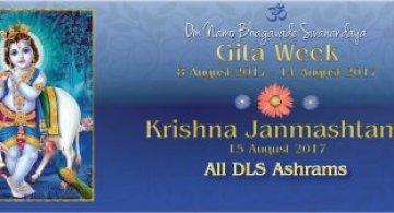 Gita Week & Sri Krishna Janmashtami