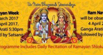 Ramayan Week & Sri Ram Navami 2017