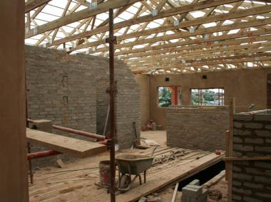 Verulam Day & Frail Care Centre - Internal view of one of the rooms (work in progress)