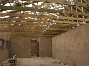 Verulam Day & Frail Care Centre - Interior view of one of the rooms (work in progress)