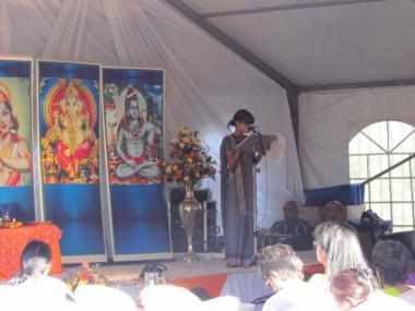 Reading of Message by Sri Swami Sivananda