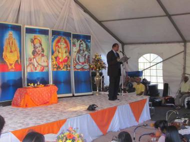 Welcome by Sri Jogi Naidoo