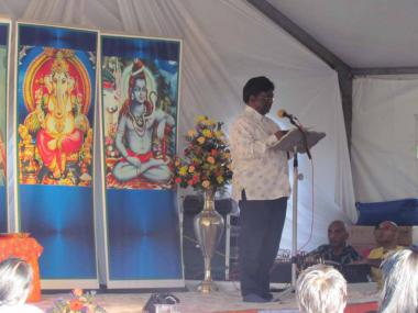 Message by eThekwini Councillor Logie Naidoo