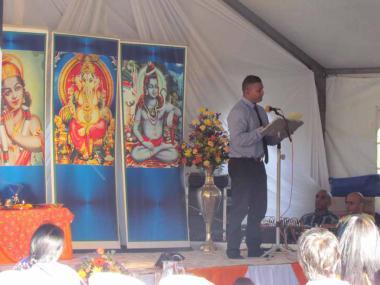 Reading of Pujye Swami Sahajananda's Message