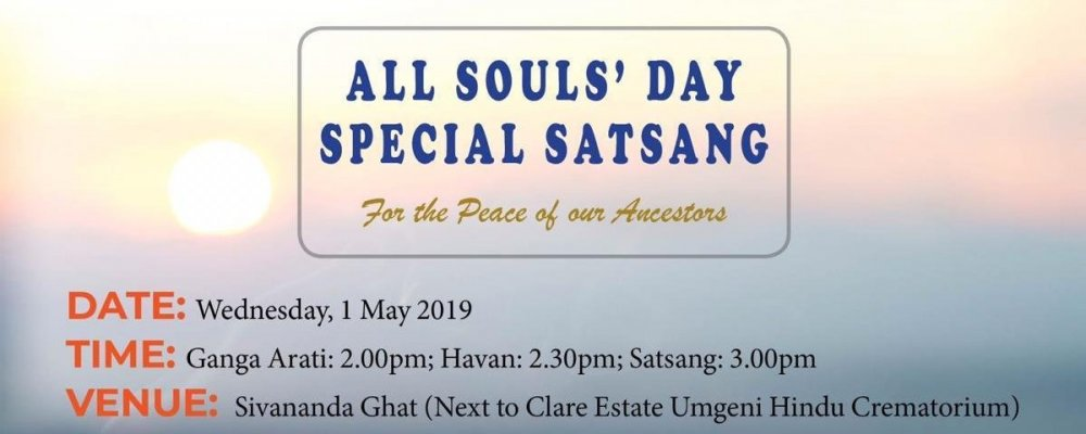Report: All Souls' Day Special Satsang - 2019
