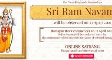 Ramayan Week & Sri Ram Navami 2021