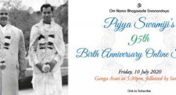 Report: Pujya Swami Sahajananda's 95th Birth Anniversary Online Satsang