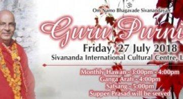 Report: Sri Guru Purnima 2018