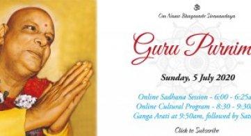 Report: Guru Purnima Online Programme