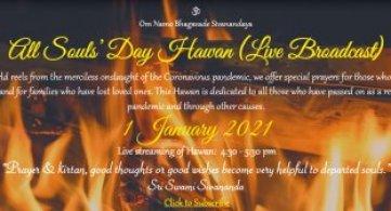 All Souls' Day Hawan - Live Broadcast