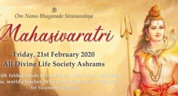 Report: Mahasivaratri 2020